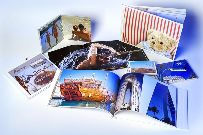Fotobücher Auswahl