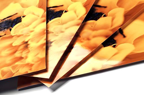 Großformat Papieroberflächen