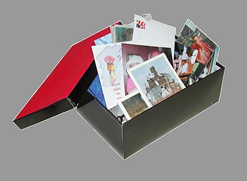 Schuhkarton Scan - Stapelscan